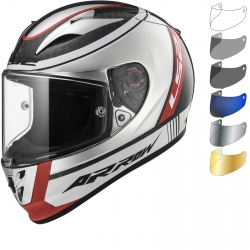 LS2 FF323 ARROW C INDY CARBON CHROM KASK INTEGRALNY