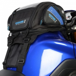 OXFORD OL433 18L TANKBAG DO MOTOCYKLI Z PLASTIKOWYM BAKIEM TORBA NA BAK FIRST TIME